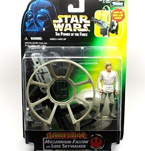 Star Wars – THe Power of the Force – Estación de Halcon del milenio y estación de autobuses Luke Skywaler y Darth Vader – Fabricado por Kenner en 1997
