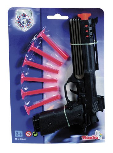 Imagen principal de Simba 108106843 - Polizei Softdart Pistole, Sortiert