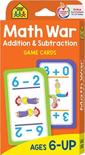 Game Cards - Math War