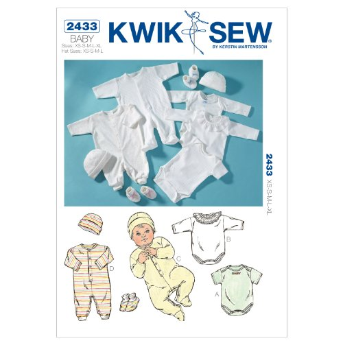 Kwik Sew K2433 Rompers Sewing Pattern
