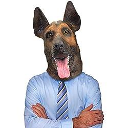 Careta de perro pastor Alemán.
