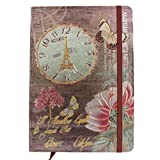 "Tootpado Clock Journals and Diaries 100 pages - Diary, Notebook (5""x7"" Inches)"