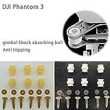 Generic Anti tripping 10pcs : Original DJI Phantom 3 Gimbal Damping Rubber Balls Shock absorbing ball Professional Camera Anti tripping