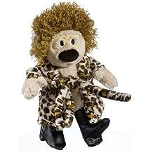 Heunec 606470 - Atze Schr?er Bear with Leopard Print Dressing Gown by Heunec