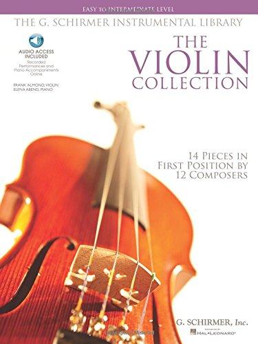 Easy To Intermediate Level (Book & Online Audio): Noten, Sammelband, Download (Audio) für Violine, Klavier (The G. Schirmer Instrumental Library)