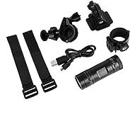 catyrre Mini F9 HD Action Camera Impermeabile, 1080P DV DVR Videocamera Sportiva per videocamera da Esterno per Bici da Azio