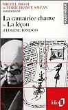 La cantatrice chauve et La leçon d'Eugène Ionesco