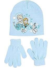 Disney Frozen - Conjunto 2 Pcs Gorro + Guantes infantil