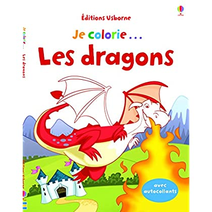 Je colorie... Les dragons