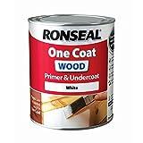 Ronseal RSLOCWPU750One Coat primer per legno e sottostrato, trasparente, 750ml
