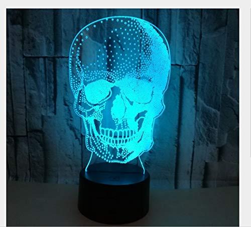 Shantou 3D Nachtlicht 7 Farbe Touch Fernbedienung Lichter Halloween Geschenk Atmosphäre Led Kleine Tischlampe