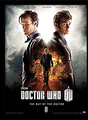 "Doctor Who ""Day of the Doctor 30 x 40 cm Affiche encadrée"