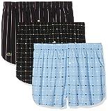 Lacoste Underwear Herren Boxershorts Multipack Boxer, 3er Pack, Mehrfarbig (Sortiert 1 901), Small