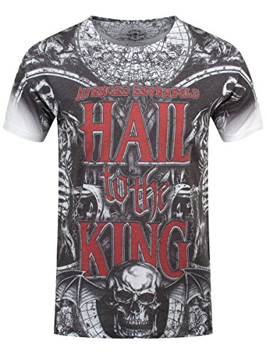 T Shirt Chalice Avenged Sevenfold (Grigio) - Medium