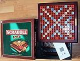 SCRABBLE Deluxe, Edelholzsteine, 2 - 4 jugadores [Importado de Alemania]