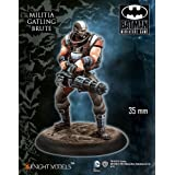 Batman Miniature Game: Militia Gatling Brute