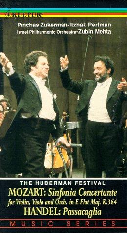 Preisvergleich Produktbild Huberman Festival-Plays Mozart [VHS]