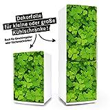 "Posterdeluxe 12530[C] Kühlschrank- / Spülmaschinen-Aufkleber ""Kleeblatt bring mir Glück"""