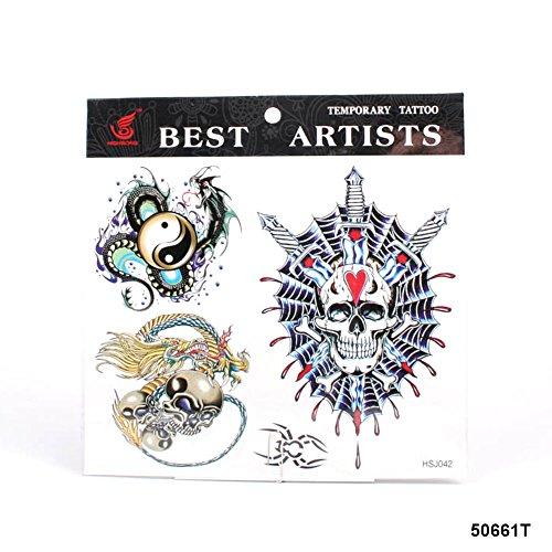 grosse-tattoos-yin-und-yang-mit-leviathan-totenkopf-schadel-mit-chinesischer-drache-und-einer-spinne