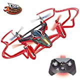 Xtrem Raiders Easy Mini Carreras para niños, Nano Drone Juguete con Auto looping, Color rojo XT280806