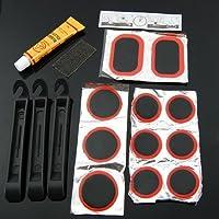 TOOGOO(R) 8 en 1 trousse a outils de reparation multi-fonctionnelle de bicyclette pour le mecanicien