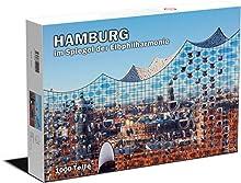 Hamburg im Spiegel der Elbphilharmonie. 1000 Teile