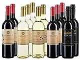 12 Flaschen südafrikanischer Wein im Probierpaket - 5 liebliche und