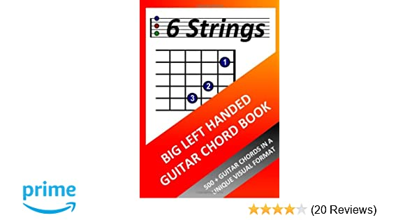 Big Left Handed Guitar Chord Book Amazon Richard Moran