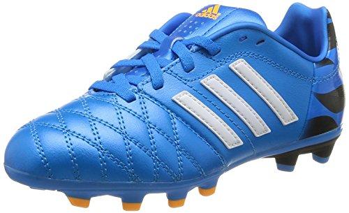 Adidas, 11 Nova Fg J, Scarpe Per Bambini, Unisex - Bambino, Multicolore (Sol Blu/C White/C Black), 36 2/3