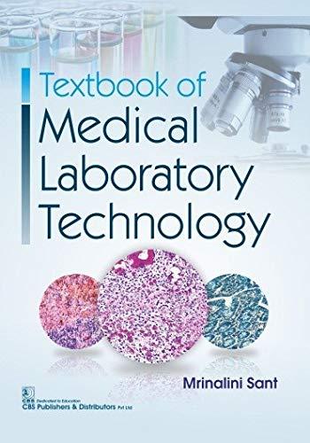 TEXTBOOK OF MEDICAL LABORATORY TECHNOLOGY (PB 2020)