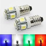 LED-Mafia® 2x E10 Schraubsockel - LED SMD E1012V! (weiß) .