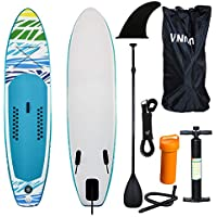 Hengda Tabla Paddle Surf Hinchable 320 * 76 * 15cm, Sup Paddle Remo Ajustable,Tabla Stand Up Paddle Board,Seguridad Bolsa y Kit de reparación, para Surfear Practicar Remo Yoga Acuático