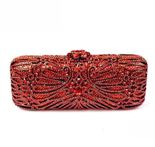 Damen Abendtaschen Diamanten Luxus Handtaschen A