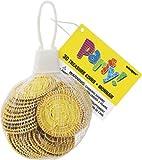 30 Stk. Goldmünzen 25mm - Pinata Füllung Spielzeug Party-Favours