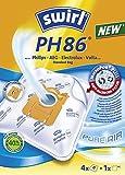 Melitta 179411 Staubbeutel/Powerfilter für Phi Ph 86Mp Plusairspve4