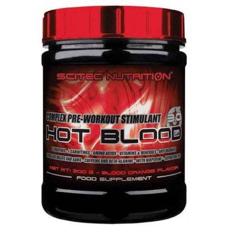 SCITEC Nutrition Hot Blood 3.0 - 300 gr Pink limón -