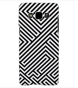 ColourCraft Illusive Design Back Case Cover for SAMSUNG GALAXY A3