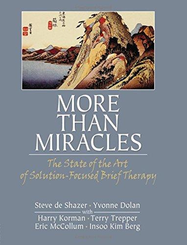 More Than Miracles (Haworth Brief Therapy) por Steve de Shazer