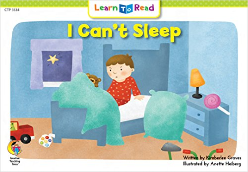 I Can't Sleep (Emergent Reader Science Series Volume Level 2)