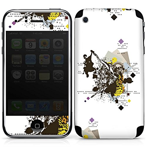 DeinDesign Apple iPhone 3Gs Folie Skin Sticker aus Vinyl-Folie Aufkleber Graffiti Sprayer Sprayen