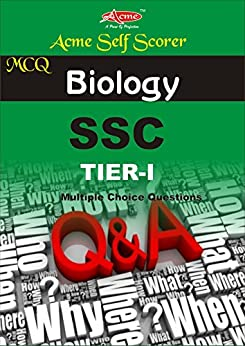 Biology MCQ: SSC (SELF SCORER Book 1) by [EDITORIAL BOARD, ACME]