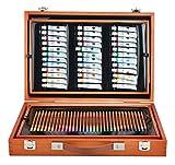 Iso Trade Malset Koffer Mega-Set 174 Einzelteile im Koffer Künstler Maler Kreative Kunst #6004
