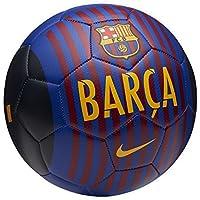 Nike FCB Prestige–Balón de fútbol, Todo el año, Color Deep Royal Blue/University GOL, tamaño 4