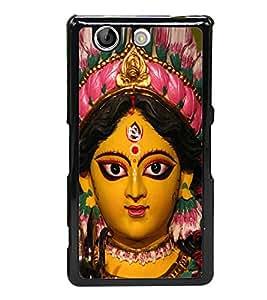 PrintVisa Designer Back Case Cover for Sony Xperia Z4 Compact :: Sony Xperia Z4 Mini (illustration smile saree kurtas kurtis)