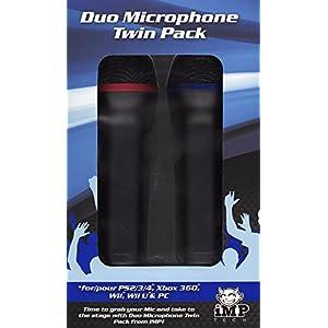 Universal Paaren Twin USB-Mikrofon zu Viert Pack (PS4/Xbox One/Xbox 360/PS3/PC DVD)