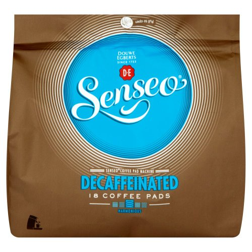Douwe Egberts Senseo Decaffeinated Coffee 18 Pads (Pack of 5, Total 90 Pods) 51Z0ibScTYL