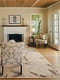 Benuta Flachgewebe Teppich Dawn Bamboo Beige 133x190 cm | Pflegeleichter Teppich für Flur und Andere Wohnräume