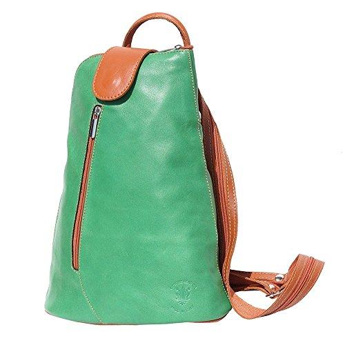 Rucksack Handtasche / ONE Schulter Taille BAG 2009 Licht grün-licht braun