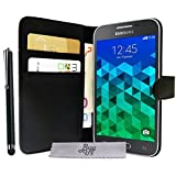 Etui Housse Luxe Portefeuille Samsung Galaxy Core Prime SM-G360 \ Core Prime VE Value Edition SM-G361 + STYLET et 3 FILM OFFERT!!