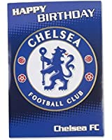 Chelsea FC Official Birthday Musical Sound Card Plays Blue Is The Colour New